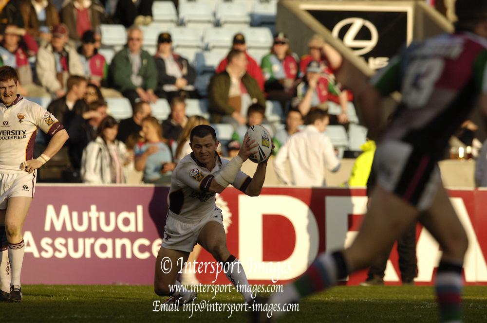 Twickenham, Surrey, ENGLAND, 29.04.2006, Super League match Quins RL vs Huddersfield Giants, at The Stoop,  © Peter Spurrier/Intersport-images.com,Rugby League .