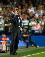 Photo: Daniel Hambury.<br />Chelsea v Werder Bremen. UEFA Champions League, Group A. 12/09/2006.<br />Chelsea's coach, Jose Mourinho.
