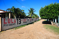 candidates wall in the road on brazil