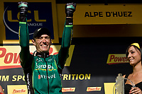 CYCLING - TOUR DE FRANCE 2011 - STAGE 19 - Modane Valfréjus > Alpe d'Huez (109,5km) - 22/07/2011 - PHOTO : VINCENT CURUTCHET / DPPI - PIERRE ROLLAND (FRA) / EUROPCAR / WINNER