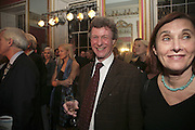 MICHAEL ALCOCK, Literary Review's Bad Sex In Fiction Prize.  In & Out Club (The Naval & Military Club), 4 St James's Square, London, SW1, 29 November 2006. <br />Ceremony honouring author who writes about sex in a 'redundant, perfunctory, unconvincing and embarrassing way'. ONE TIME USE ONLY - DO NOT ARCHIVE  © Copyright Photograph by Dafydd Jones 248 CLAPHAM PARK RD. LONDON SW90PZ.  Tel 020 7733 0108 www.dafjones.com