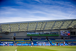 BRIGHTON & HOVE, ENGLAND - Saturday, June 20, 2020: a general view during the FA Premier League match between Brighton & Hove Albion FC and Arsenal FC at the AMEX Stadium. (Pic by David Rawcliffe/Propaganda)