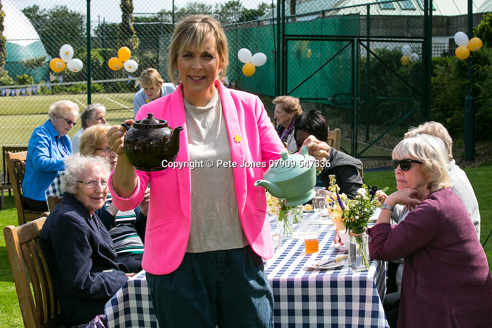 Mel's Blooming Great Tea Party,<br /> Marie Curie;<br /> The Park Club, Acton, London;<br /> 16th May 2016.<br /> <br /> &copy; Pete Jones<br /> pete@pjproductions.co.uk