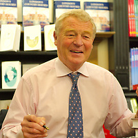 """London April 23rd  Hatchards Piccadilly Lord Ashdown at the launch and signing of his biography """" A fortunate life"""" . that comes out today April 23 2009..Standard Licence feee's apply  to all image usage.Marco Secchi - Xianpix tel +44 (0) 845 050 6211 .e-mail ms@msecchi.com .http://www.marcosecchi.com"""