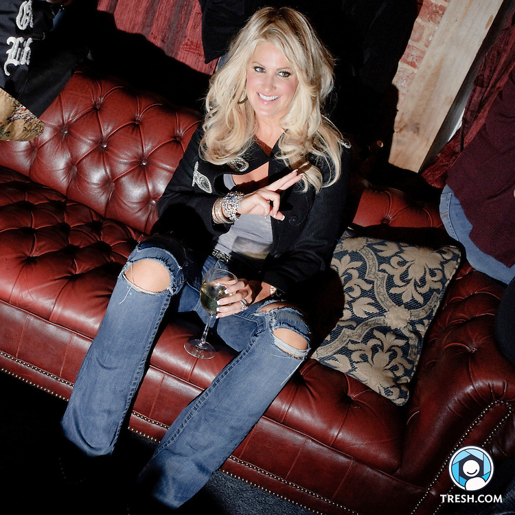 Images from Kim Zolciak at EFN Lounge, Wednesday, November 25, 2009.