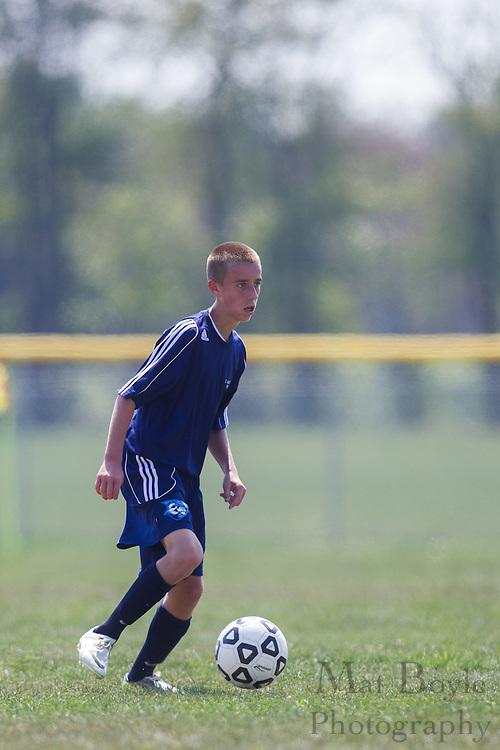 Williamstown High School freshman soccer host St Augustine Prep High School on Friday August 31, 2012. (photo / Mat Boyle)