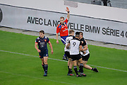 Dane Coles (NZL) (ALL BLACKS) celebrated it try with Damian McKenzie (NZL) (ALL BLACKS) and Aaron Smith (NZL) (ALL BLACKS) during the 2017 Autumn Test Match between France and New Zealand on November 11, 2017 at Stade de France in Saint-Denis, France - Photo Stephane Allaman / ProSportsImages / DPPI