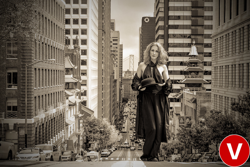 Beautiful &amp; Exciting People from the series &quot;People In Art&quot; by New York City photographer Vitus Feldmann. <br />