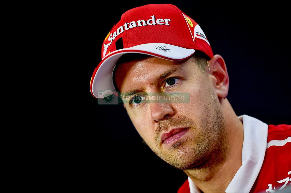 November 24, 2017 - Yas Marina Circuit, Abu Dhabi - Sebastian Vettel, Scuderia Ferrari, formula 1 GP, Abu Dhabi, Yas Marina Circuit, VAE, 24.11.2017.Photo:mspb/Jerry Andre.Credit: Melzer/face to face (Credit Image: © face to face via ZUMA Press)