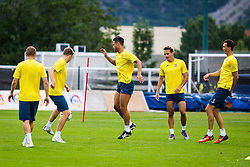 Juninho of NK Domzale during practice session before football match between NK Domzale and FC Lusitanos Andorra in second leg of UEFA Europa league qualifications on July 6, 2016 in Andorra la Vella, Andorra. Photo by Ziga Zupan / Sportida