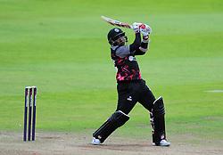 Mahela Jayawardene of Somerset hits a boundary.  - Mandatory by-line: Alex Davidson/JMP - 15/07/2016 - CRICKET - Cooper Associates County Ground - Taunton, United Kingdom - Somerset v Middlesex - NatWest T20 Blast