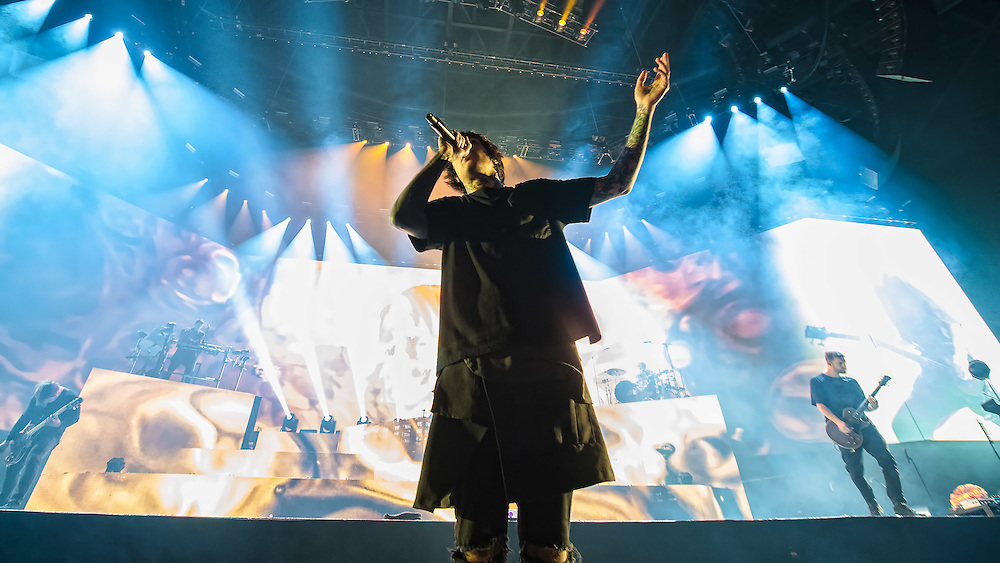Bring Me The Horizon in concert at The SSE Hydro, Glasgow, Scotland, Great Britain 9th November 2016