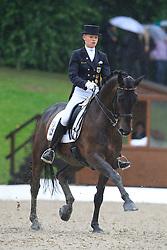 Annabel Frenzen (GER) - Cristobal 14<br /> European Championship Dressage Young Riders  - Broholm 2011<br /> © Hippo Foto - Leanjo de Koster