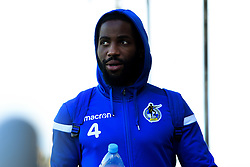 Abu Ogogo of Bristol Rovers arrives at Memorial Stadium prior to kick off - Mandatory by-line: Ryan Hiscott/JMP - 10/11/2019 - FOOTBALL - Memorial Stadium - Bristol, England - Bristol Rovers v Bromley - Emirates FA Cup first round