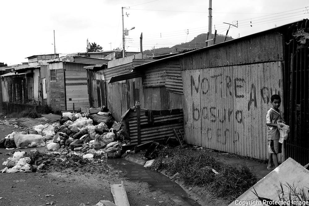 The streets in San Felipe.
