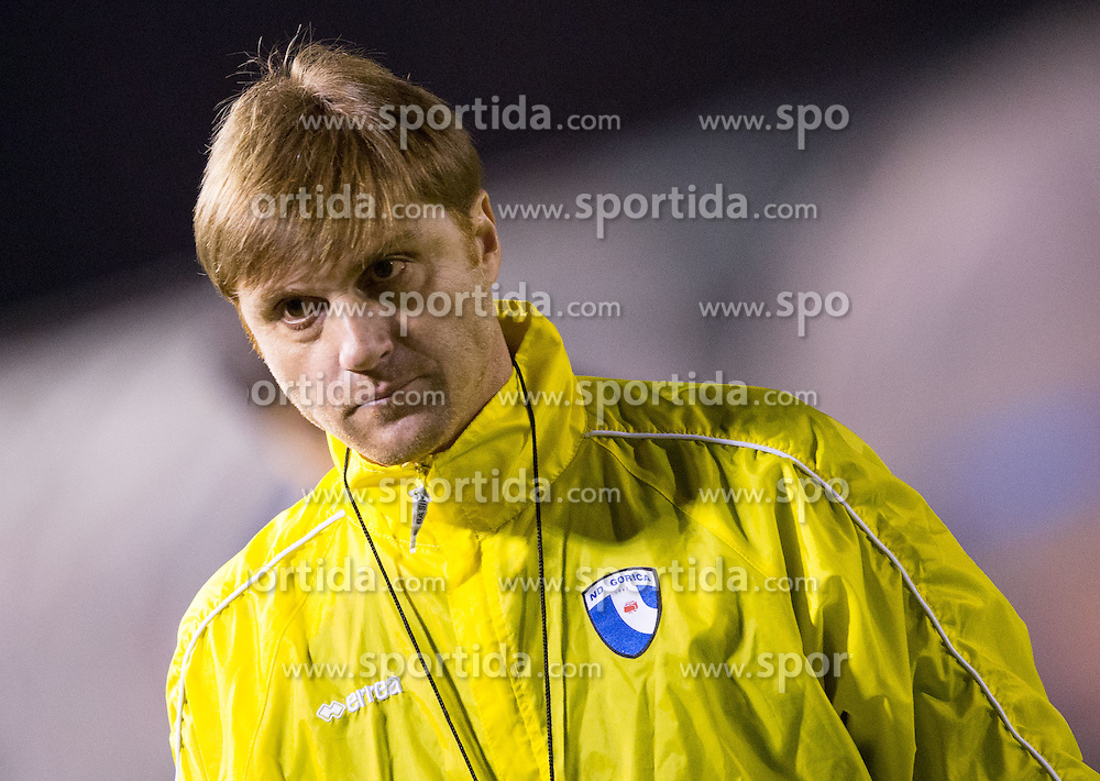 Luigi Apolloni, head coach of Gorica during football game between NK Rudar and ND Gorica in 1st Leg of Semifinal of Slovenian Cup 2013/14, on March 26, 2014 in Velenje, Stadion Ob jezeru, Slovenia. Photo by Vid Ponikvar / Sportida