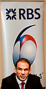 Putney, London, Englands', Martin JOHNSON,  meets the press at the launch of the 2009 Six Nations Rugby Press Conference, Hurlingham Club, England, Wed. 28.01.2009 [Mandatory Credit Peter Spurrier Intersport Images]