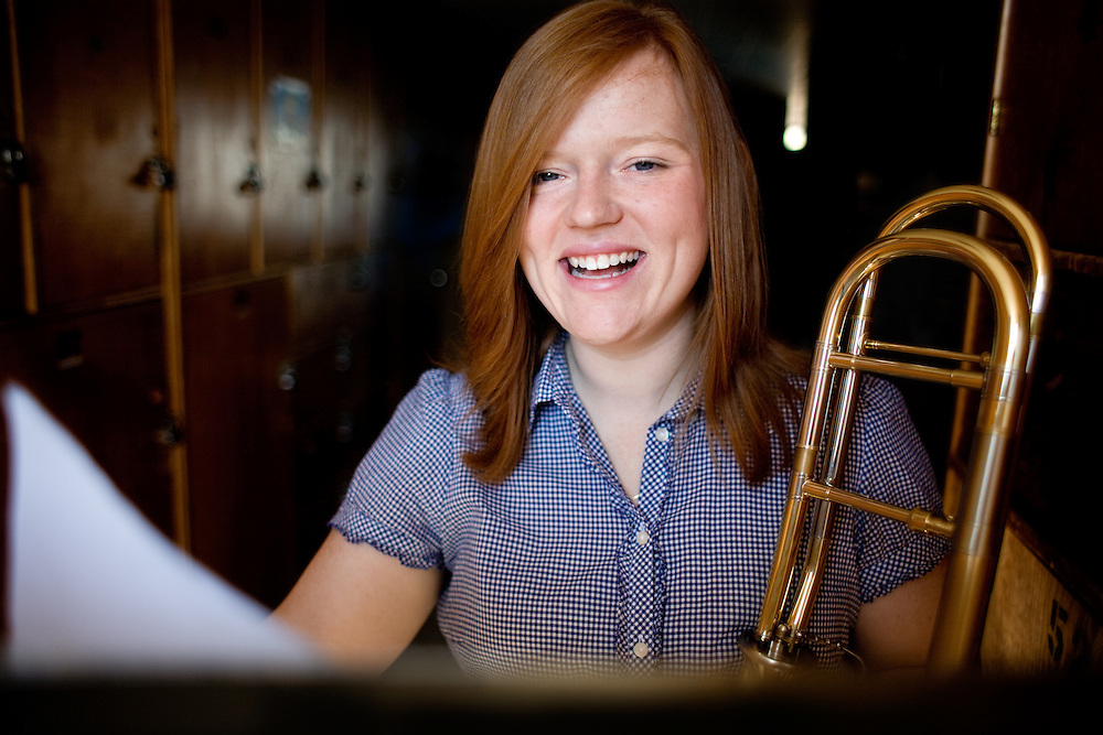 Jennifer Climer, Ohio University Senior Music Major in the College of Fine Arts.  For Ohio Today Magazine.