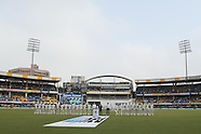 Cricket - India v New Zealand 3rd Test D1 at Indore