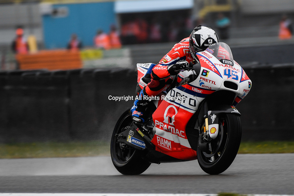 June 24th 2017, TT Circuit, Assen, Netherlands; MotoGP Grand Prix TT Assen, Qualifying Day; Scott Redding (Pramac)during the qualifying sessions