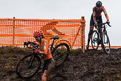 VAN DER HEIJDEN Inge (NED) during Women Under 23 race, 2020 UCI Cyclo-cross Worlds Dübendorf, Switzerland, 2 February 2020. Photo by Pim Nijland / Peloton Photos | All photos usage must carry mandatory copyright credit (Peloton Photos | Pim Nijland)