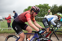 Lisa Klein (GER) of CANYON//SRAM Racing climbs on the penultimate climb of Stage 4 of 2019 OVO Women's Tour, a 158.9 km road race from Warwick to Burton Dassett, United Kingdom on June 13, 2019. Photo by Balint Hamvas/velofocus.com