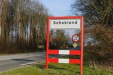 Schokland, Het Flevolandschap, Noordoostpolder, Flevoland, Netherlands