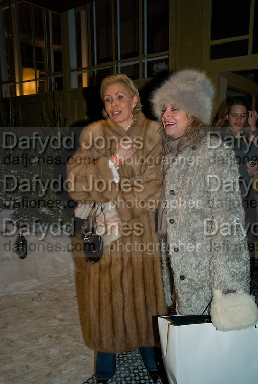 BEATRIX MILLER; ANDREA BRINKMAN, Dinner, Awards ceremony and dancing in aid of the Knights of Malta. Maloja Palace.  St. Moritz, Switzerland. 24 January 2009 *** Local Caption *** -DO NOT ARCHIVE-© Copyright Photograph by Dafydd Jones. 248 Clapham Rd. London SW9 0PZ. Tel 0207 820 0771. www.dafjones.com.<br /> BEATRIX MILLER; ANDREA BRINKMAN, Dinner, Awards ceremony and dancing in aid of the Knights of Malta. Maloja Palace.  St. Moritz, Switzerland. 24 January 2009