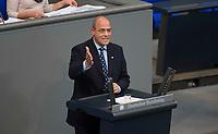 DEU, Deutschland, Germany, Berlin, 01.02.2018: Peter Boehringer (MdB, Alternative für Deutschland, AfD) bei einer Rede im Deutschen Bundestag.