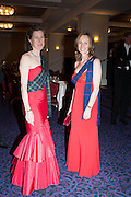 LUCILLA NOBLE; CHRISTIAN DE FERRANTI, The Royal Caledonian Ball 2013. The Great Room, Grosvenor House. Park lane. London. 3 May 2013.