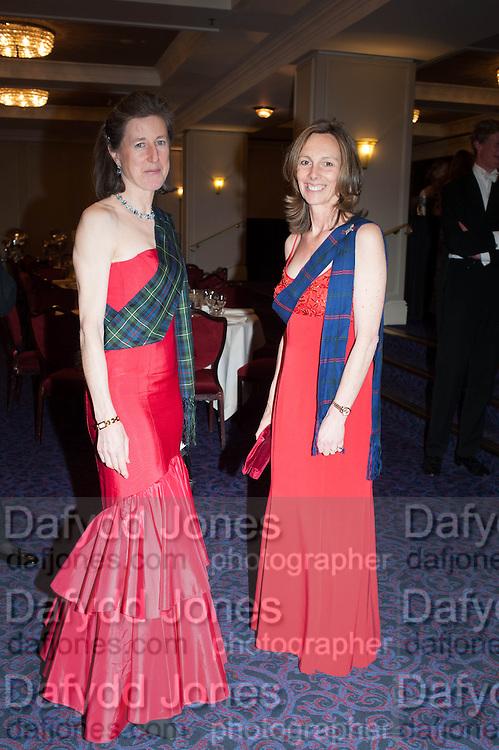 LUCILLA NOBLE; CHRISTIAN DE FERRANTI, The Royal Caledonian Ball 2013. The Great Room, Grosvenor House. Park lane. London. 3 May 2013.