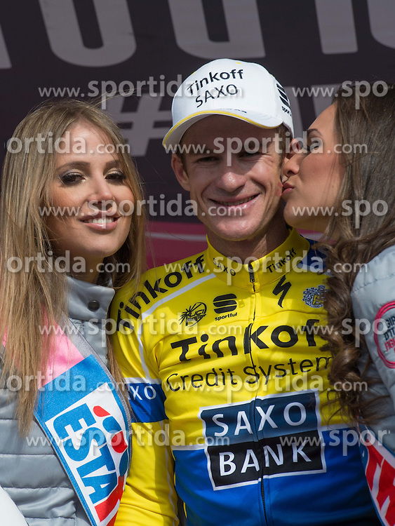 31.05.2014, Monte Zoncolan, ITA, Giro d Italia 2014, 20. Etappe, Maniago nach Monte Zoncolan, im Bild Etappensieger Michael Rogers, AUS (#209, Tinkoff- Saxo) // stage winner Michael Rogers, AUS (#209, Tinkoff- Saxo) during Giro d' Italia 2014 at Stage 20 from Maniago to Monte Zoncolan, Italy on 2014/05/31. EXPA Pictures © 2014, PhotoCredit: EXPA/ R. Eisenbauer