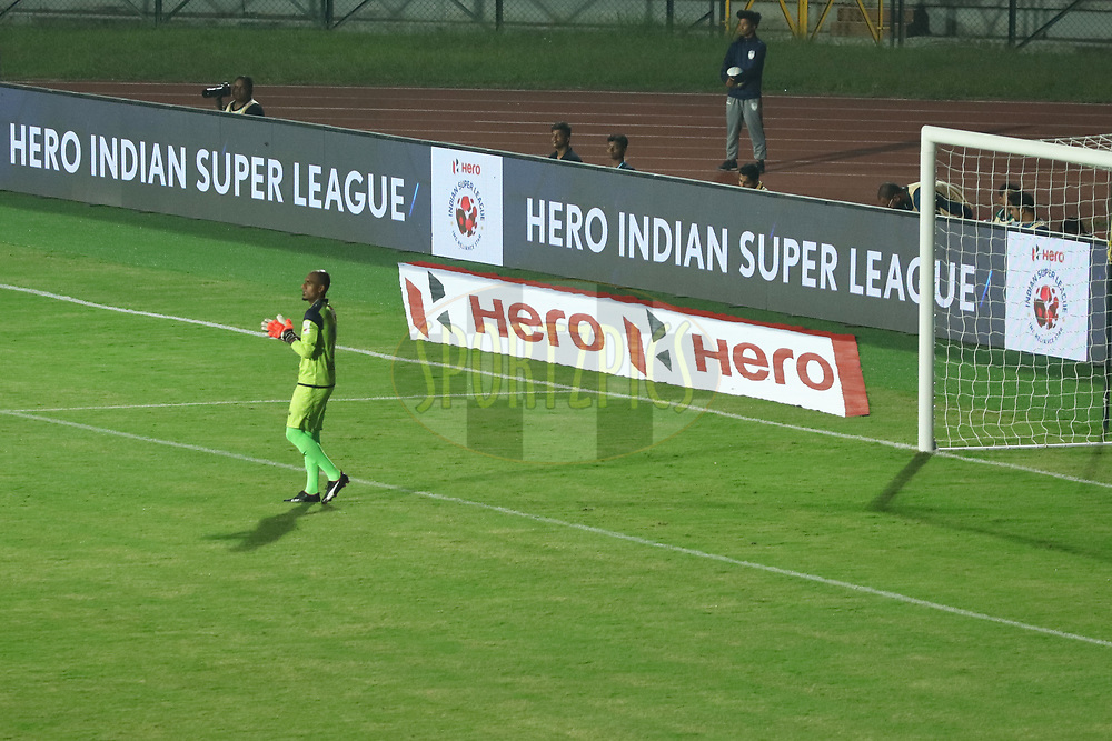 GV, Branding during match 2 of the Hero Indian Super League between NorthEast United FC and Jamshedpur FC held at the Indira Gandhi Athletic Stadium, Guwahati India on the 18th November 2017<br /> <br /> Photo by: Saikat Das  / ISL / SPORTZPICS