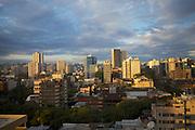 A cityscape view of Porte Alegre, Brazil.