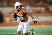 AUSTIN, TX - AUGUST 30:  Jaxon Shipley #8 of the Texas Longhorns breaks free against the North Texas Mean Green on August 30, 2014 at Darrell K Royal-Texas Memorial Stadium in Austin, Texas.  (Photo by Cooper Neill/Getty Images) *** Local Caption *** Jaxon Shipley