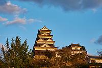 Japon, île de Shikoku, prefecture de Ehime, Ozu, le château d'Ozu // Japan, Shikoku island, Ehime region, Ozu, Ozu castle