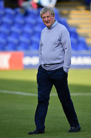 Football - 2019 / 2020 pre-season friendly - AFC Wimbledon vs. Crystal Palace<br /> <br /> Crystal Palace manager Roy Hodgson arrives at Kingsmeadow Stadium.<br /> <br /> COLORSPORT/ASHLEY WESTERN
