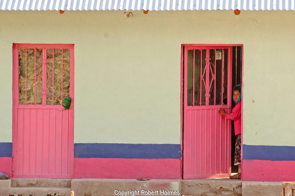 Tarahumana village in the Copper Canyon, Mexico