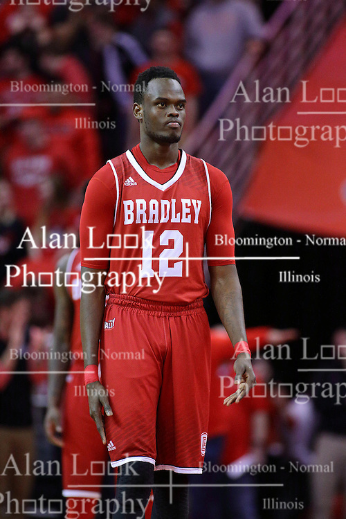 11 February 2017:  Koch Bar during a College MVC (Missouri Valley conference) mens basketball game between the Bradley Braves and Illinois State Redbirds in  Redbird Arena, Normal IL