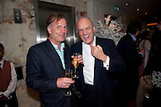VALENTINE GUINNESS; NICHOLAS COLERIDGE, Book launch party for the paperback of Nicky Haslam's book 'Sheer Opulence', at The Westbury Hotel. London. 21 April 2010