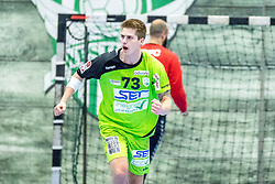 10.12.2017, BSFZ Suedstadt, Maria Enzersdorf, AUT, HLA, SG INSIGNIS Handball WESTWIEN vs Bregenz Handball, Hauptrunde, 16. Runde, im Bild Viggo Kristjansson (SG INSIGNIS Handball WESTWIEN) // during Handball League Austria 16 th round match between SG INSIGNIS Handball WESTWIEN and Bregenz Handball at the BSFZ Suedstadt, Maria Enzersdorf, Austria on 2017/12/10, EXPA Pictures © 2017, PhotoCredit: EXPA/ Sebastian Pucher