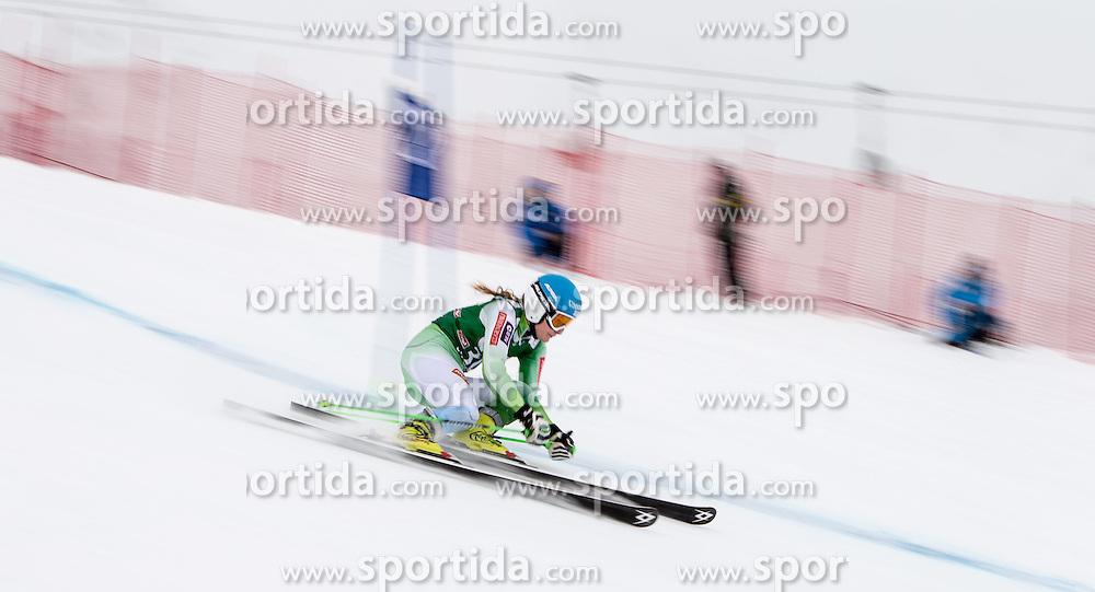28.12.2014, Hohe Mut, Kühtai, AUT, FIS Ski Weltcup, Kühtai, Riesenslalom, Damen, 1. Durchgang, im Bild Ana Drev (SLO) // Ana Drev of Slovenia in action during 1st run of Ladies Giant Slalom of the Kuehtai FIS Ski Alpine World Cup at the Hohe Mut Course in Kuehtai, Austria on 2014/12/28. EXPA Pictures © 2014, PhotoCredit: EXPA/ JFK