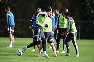 121114 Wales football team training