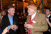 MICHAEL PALIN; ROBERT RANKIN, Orion Authors' Party,  Royal Opera House, Covent Garden, London. 15 February 2011. <br /> -DO NOT ARCHIVE-© Copyright Photograph by Dafydd Jones. 248 Clapham Rd. London SW9 0PZ. Tel 0207 820 0771. www.dafjones.com.