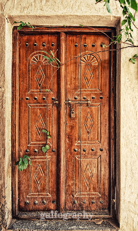 """""""Heritage"""" by Asma Faisal.  In the alleys of the historical part of Dubai, an old door holds the memories and stories of the past."""
