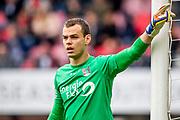 NIJMEGEN- 07-05-2017, NEC - AZ,  Stadion De Goffert, 2-1, NEC Nijmegen keeper Joris Delle