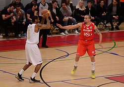 Doug McLaughlin-Williams of Bristol Flyers - Photo mandatory by-line: Alex James/JMP - Mobile: 07966 386802 - 28/03/2015 - SPORT - Basketball - Bristol - SGS Wise Campus - Bristol Flyers v London Lions - British Basketball League