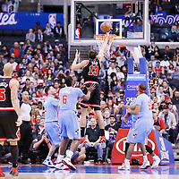 24 November 2013: Chicago Bulls center Joakim Noah (13) goes for the layup during the Los Angeles Clippers 121-82 victory over the Chicago Bulls at the Staples Center, Los Angeles, California, USA.