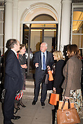 MARTYN LEWIS, Party to celbrate the publication of ' Walking on Sunshine' 52 Small steps to Happiness' by Rachel Kelly. RSA. London. 9 November 2015