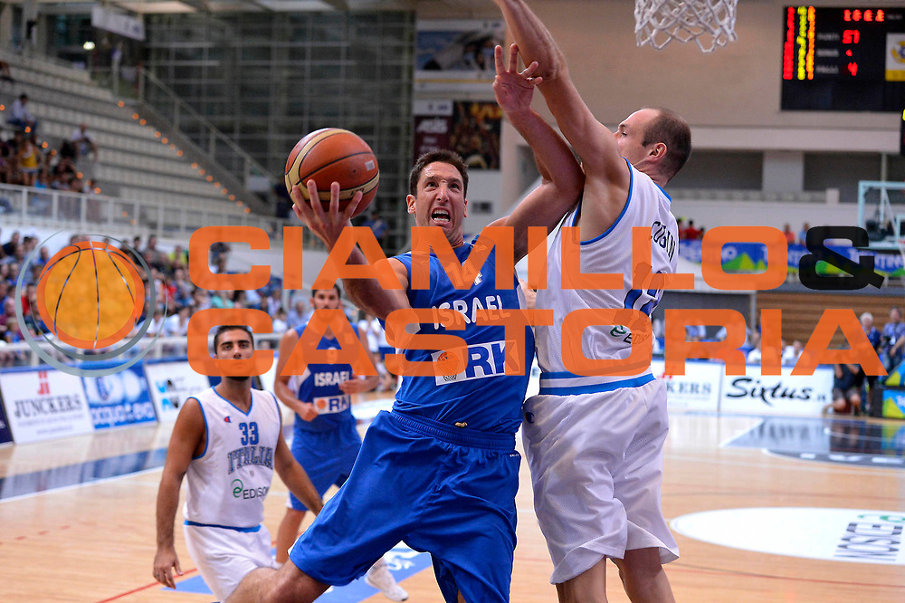 DESCRIZIONE : Trento Basket Cup 2013 Italia Israele<br /> GIOCATORE : Yaniv Green<br /> CATEGORIA : Tiro gancio<br /> SQUADRA : Nazionale Israele Uomini Maschile<br /> EVENTO : Trento Basket Cup 2013 Italia Israele<br /> GARA : Italia Israele<br /> DATA : 08/08/2013<br /> SPORT : Pallacanestro<br /> AUTORE : Agenzia Ciamillo-Castoria/GiulioCiamillo<br /> Galleria : FIP Nazionali 2013<br /> Fotonotizia : Trento Basket Cup 2013 Italia Israele<br /> Predefinita :